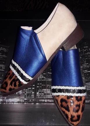 Новые стильные туфли 42рр