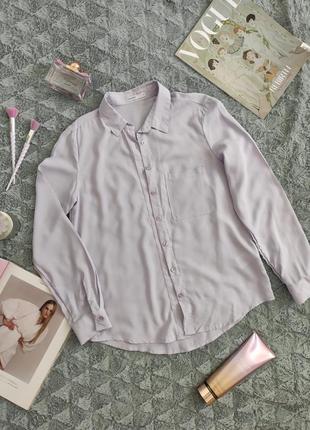 Лиловая рубашка