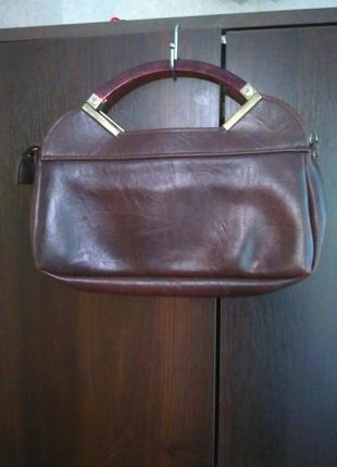 Винтажная сумка-клатч