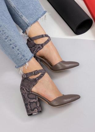 36-40 супер стильные удобные качественные шикарные туфли с острым носиком и ремешками