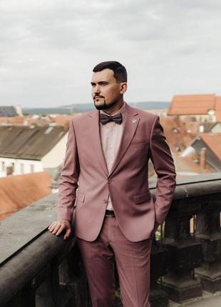 Мужской свадебный выпускной костюм двойка giotelli