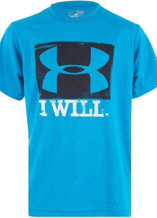 Крутейшая детская футболка от under armour i will t-shirt