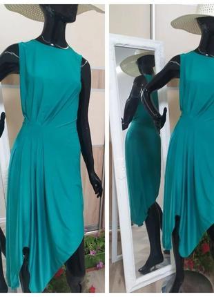 Платье каскад по фигуре