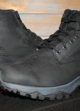 Мужские ботинки merrell icepack guide mid lace plr wp snow shoe j88867