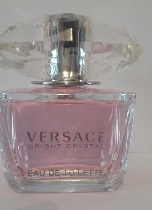 Versace bright crystal туалетная вода тестер 90 ml