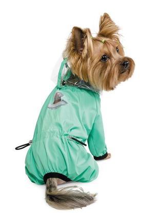 Дождевик для собак космос