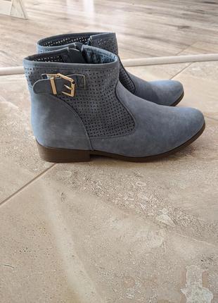 Лёгкие ботинки без утеплителя