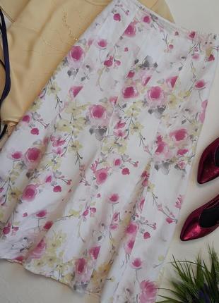 Роскошная летняя юбка /лён