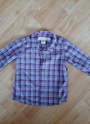 Рубашка h&m 2-3года