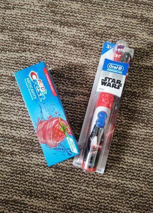 Зубна щітка електрична, зубна щітка