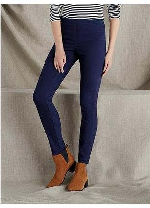 Термо джеггинсы утеплённые джинсы на резинке l 40 euro esmara германия