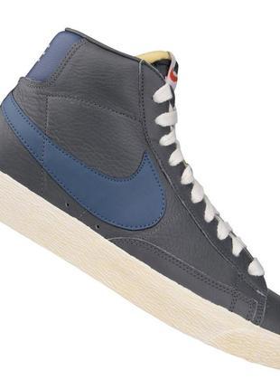 Кожаные кроссовки nike (найк) 40р. арт 375722 042
