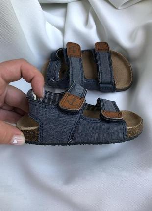 Босоножки сандалии на мальчика
