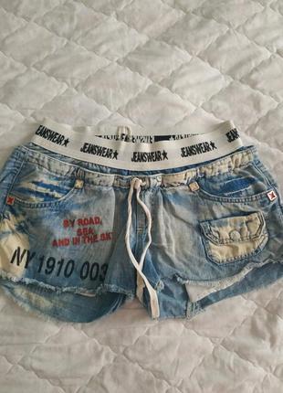 Шорты италия джинсовые