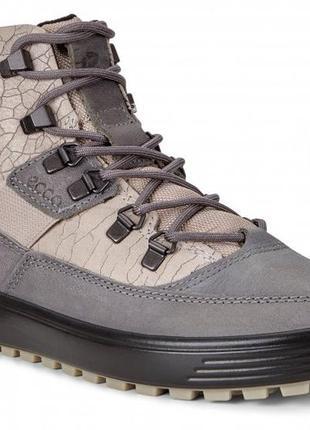 Ecco soft 7 tred -кожаные зимние ботинки- 39