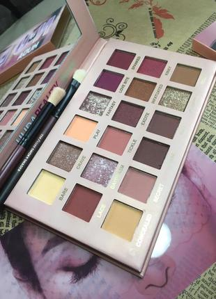 Тіні huda beauty new nude