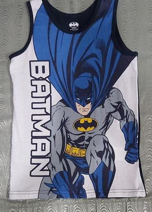 Новая трикотажная майка batman