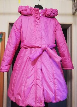 Зимнее пальто для принцессы