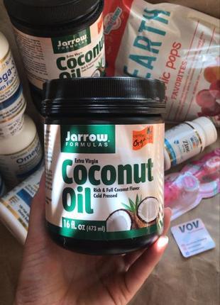 Кокосова олія jarrow