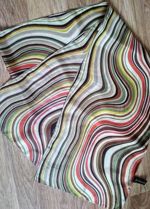 Шарф accessorize india, шелк, 160*25 см