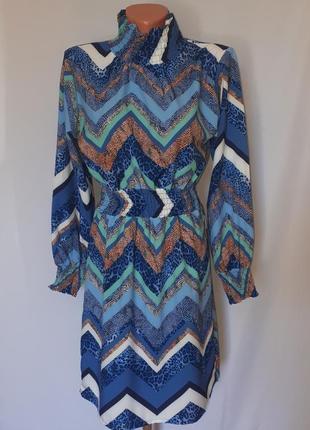 Стильное легкое платье италия (размер 38-40)