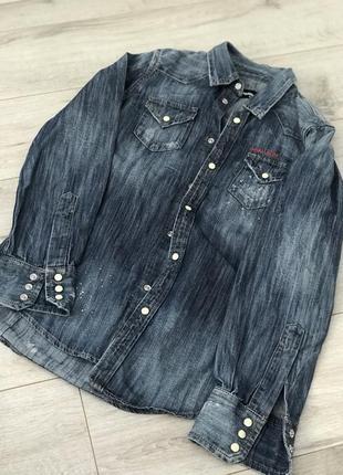 Рубашка джинсовая dsquared