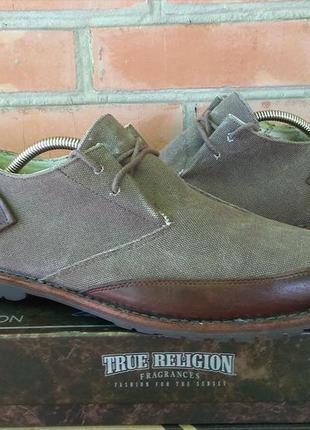 Timberland туфли кожа + канвас оригинал (42 - uk8)