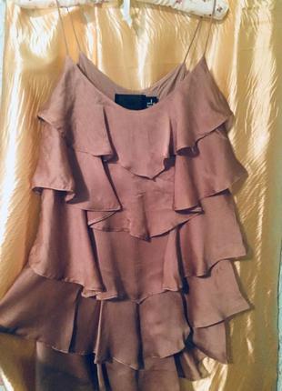 Классное платье-волан от h&м