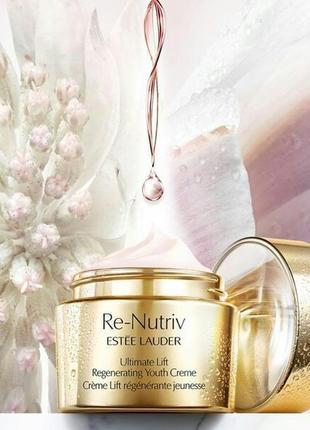 Интенсивно омолаживающий лифтинговый  крем  estee lauder re-nutriv ultimate lift