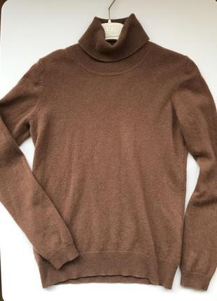 Кашемировый свитер гольф