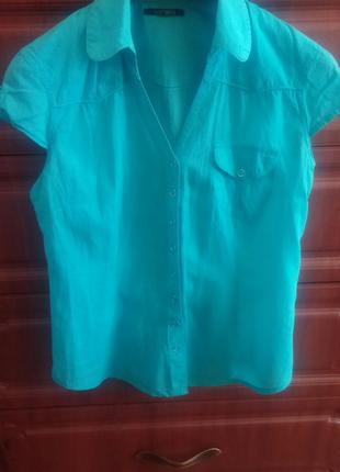 Рубашка женская, коттон.