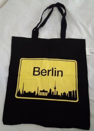 Катонова тумка торба шопер хлопковоя сумка