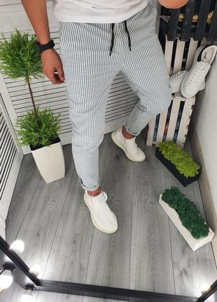 Летние котоновые штаны брюки, стильные и удобные (30-38)