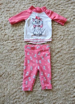 Купальный плавательный костюм для малышей купальник