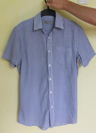 Літня сорочка в клітинку для хлопця/чоловіка