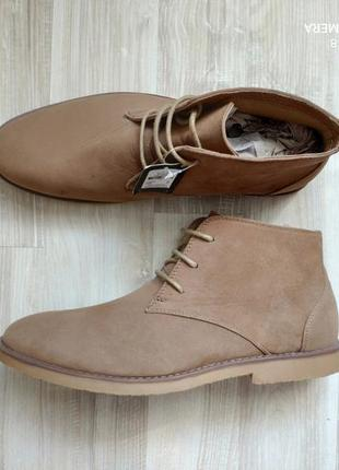 Мужские демисезонные ботинки/туфли cedar wood state