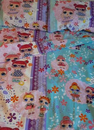 Подростковый комплект постельного белья кукла лола