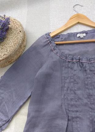 Лавандовая натуральная блуза от nile оригинал