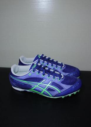 Оригинал asics hyper md es g208n 4785 для бега беговые кроссовки шиповки