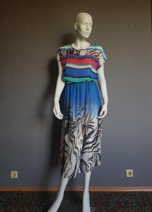 Платье из креп-шифона season