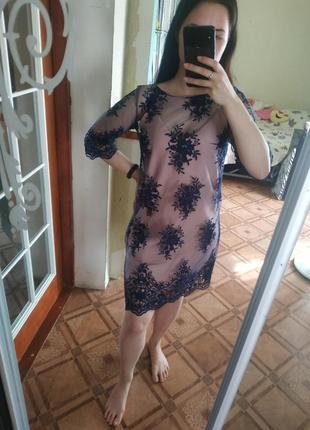 Ніжна, романтична сукня