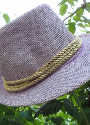 Актуальная летняя шляпа