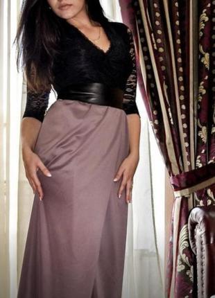 Изящное вечернее платье
