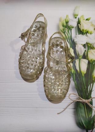 Силиконовые сандали босоножки для девочки