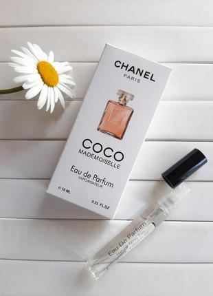 Пробник, мини парфюм,парфюмерная вода,парфюмерная ручка,chanel mademoiselle,10мл