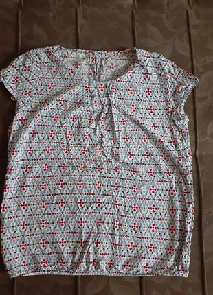 Вискозная блузка