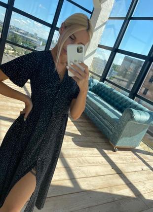 Платье черное хит 2020