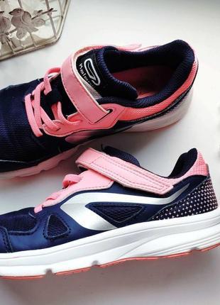 Легкие летние кроссовки для девочки kalenji (календжи) р.31-32 (20,5см)