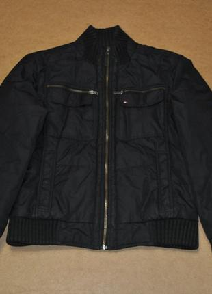 Tommy hilfiger мужская утепленная куртка теплая