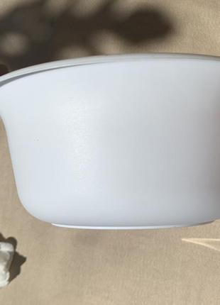 Миска харчова, пластикова миска 0,7 л.